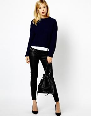 A Wear | A Wear Boxy Crop Sweater at ASOS