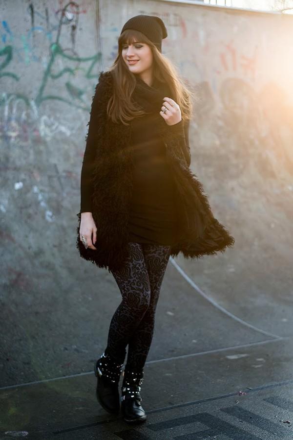 andy sparkles jacket dress pants shoes hat scarf jewels