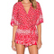 Lovers   friends x revolve isabelle romper in red scarf from revolve.com