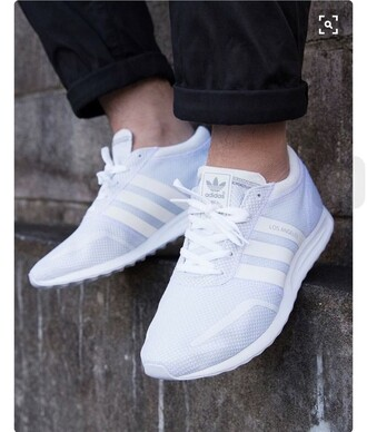 shoes white adidas sneakers