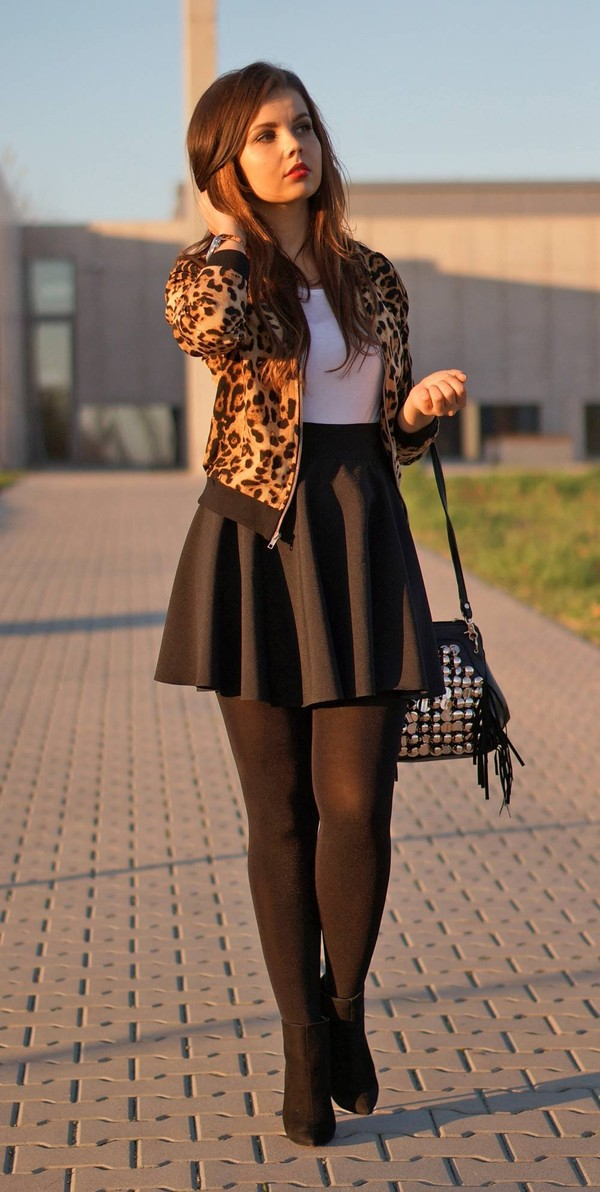 a piece of anna jacket skirt bag shoes jewels