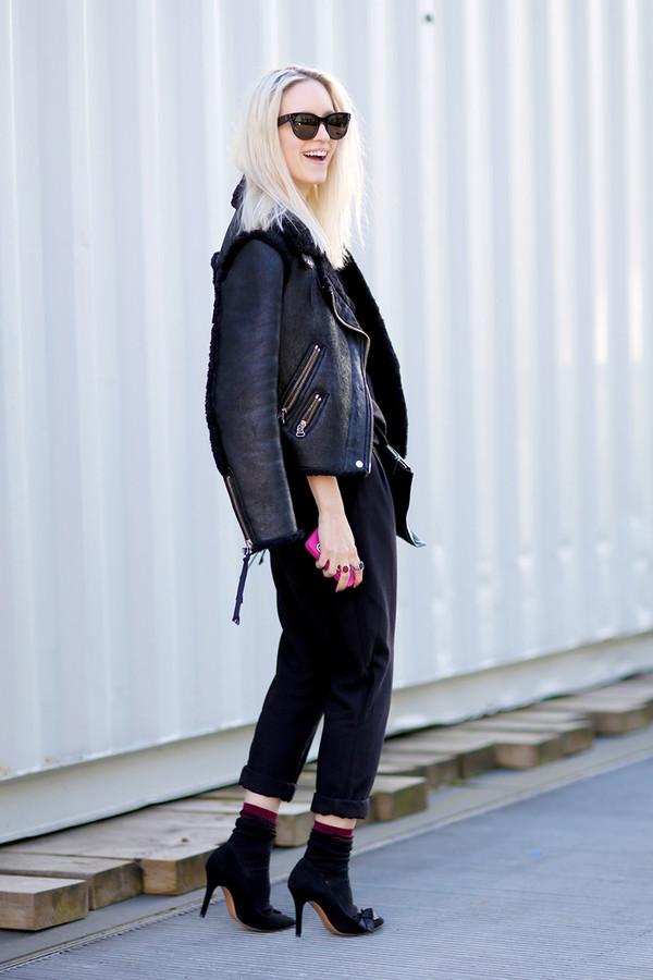 the fashion guitar pants coat shoes jewels sunglasses bag