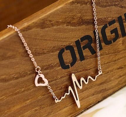 Fahion ECG Necklace [grxjy5100184] on Luulla