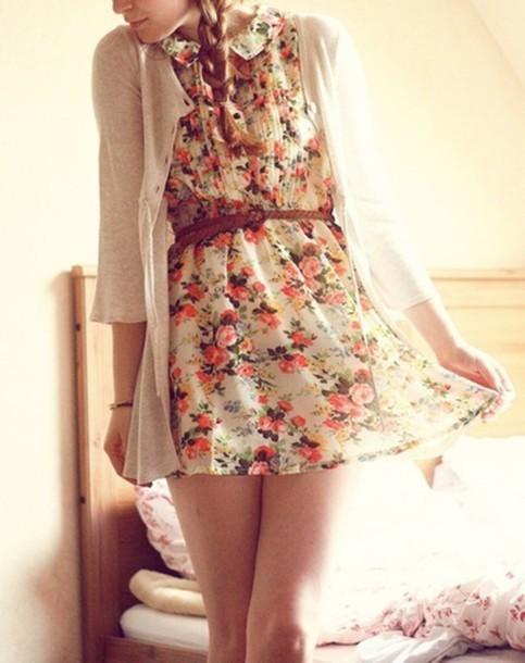 dress floral dress floral pattern