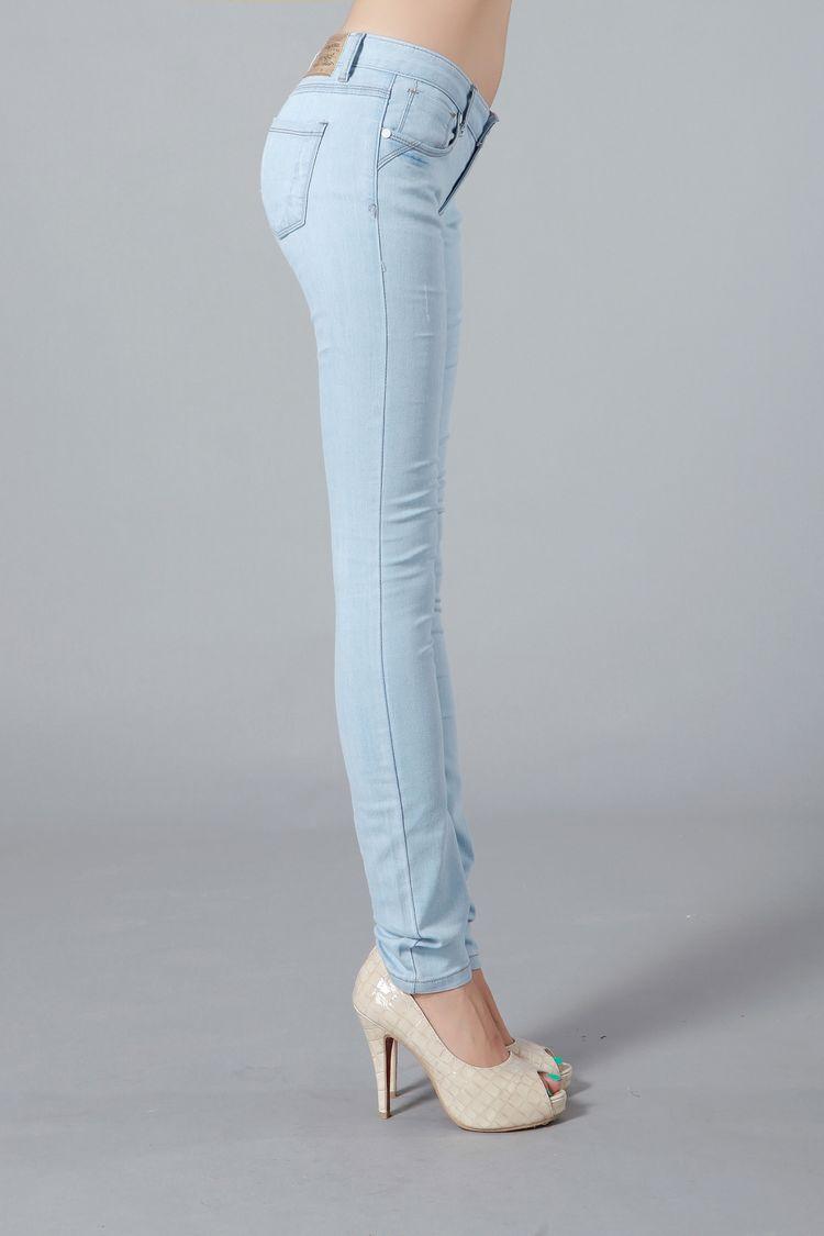 Taobao Denim trousers Slim female Korean tidal stretch jeans denim trousers were thin pencil pants female feet lightwsrvtoskkli from English Agent:BuyChina.com