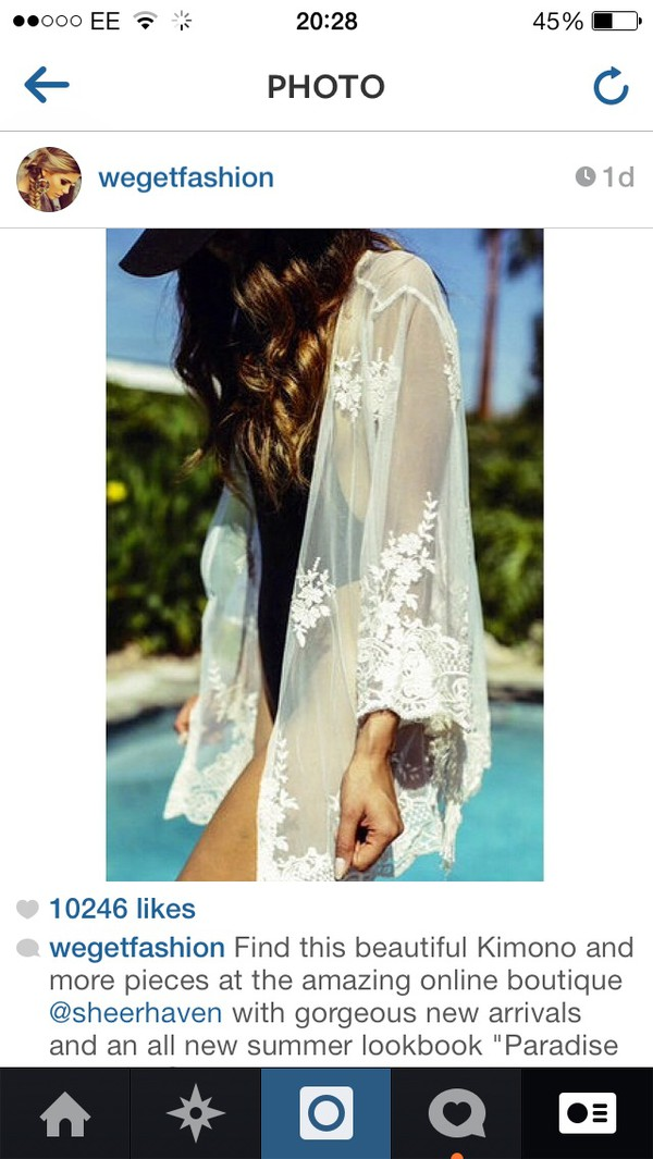 blouse white pool cover up
