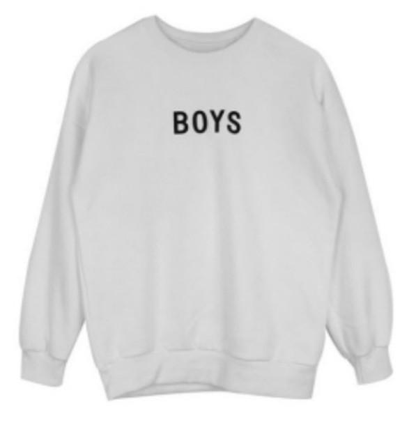 sweater oversized sweater sweatshirt graphic sweater guys white