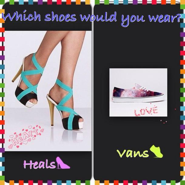 shoes galaxy shoes Vans galaxy vans