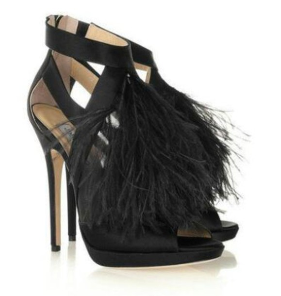 shoes tassles heels