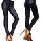 Women's leather leggings