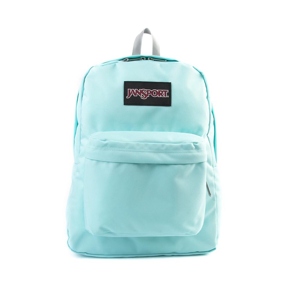 JanSport Superbreak Backpack, Aqua | Journeys Shoes