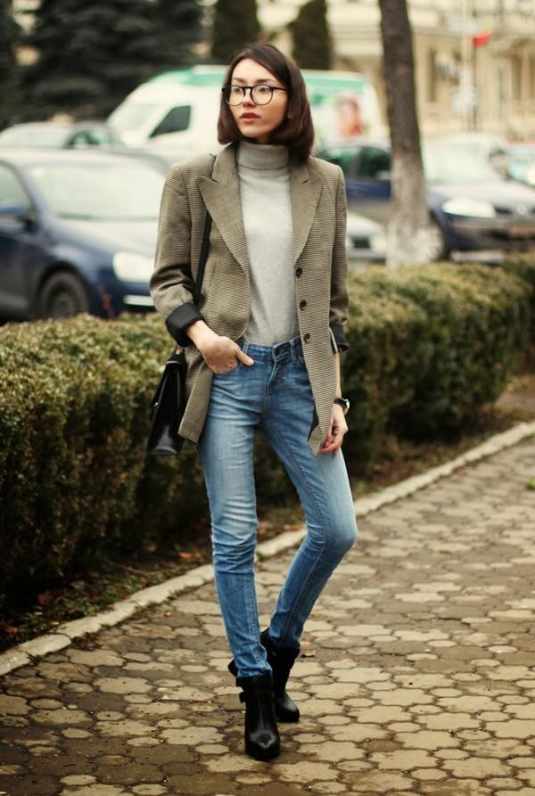 the fashion cuisine jacket jeans bag shoes jewels