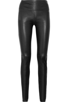 Iris & Ink Stretch-leather leggings - Exclusively for THE OUTNET