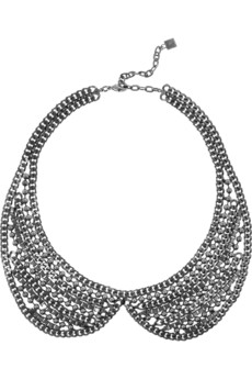 DANNIJO Stella silver-tone necklace  - 41% Off Now at THE OUTNET