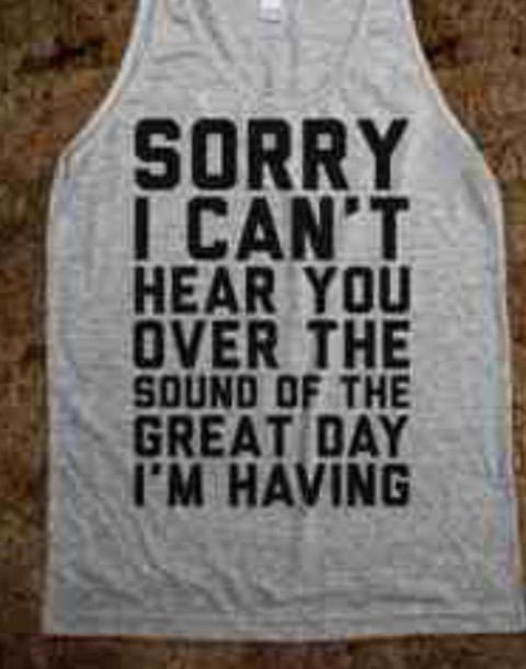 shirt quote on it grey bold top peri.marie