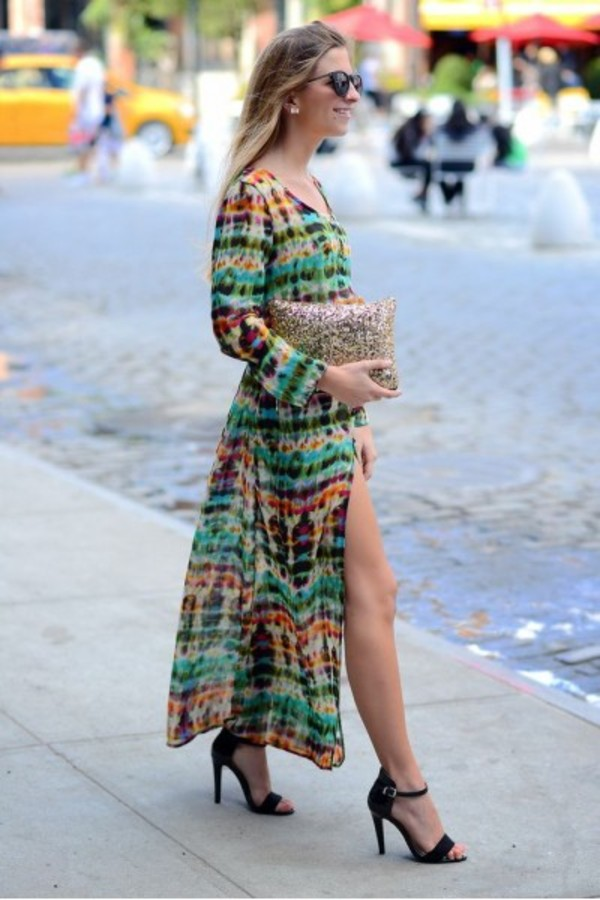 dress style fashion ootd look of the day maxi dress instagram instastyle