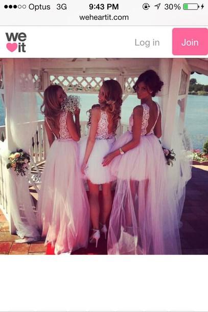 dress wedding dress wedding clothes bridesmaid