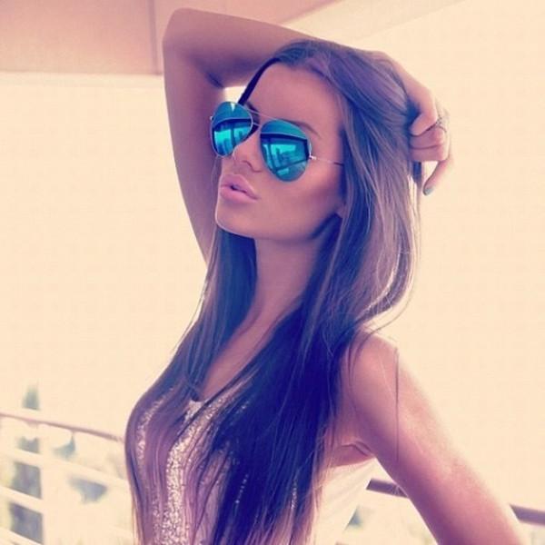 sunglasses gold frame blue sunglasses aviator sunglasses mirrored sunglasses mirrored sunglasses mirror aviators colorful blue pink green summer ray ban sunglasses