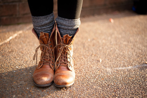 shoes leather boots laces