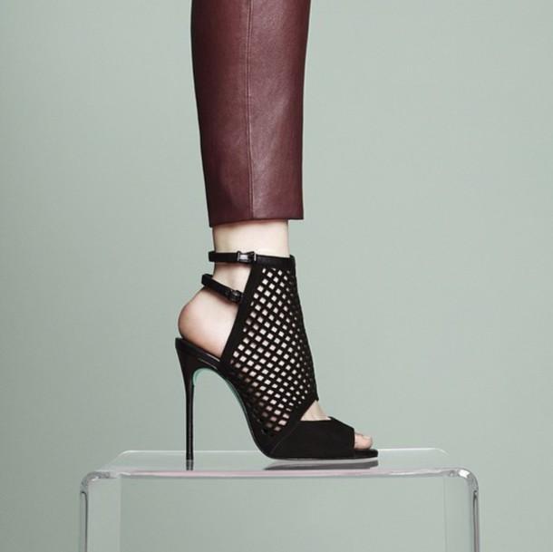 shoes high heels black heels