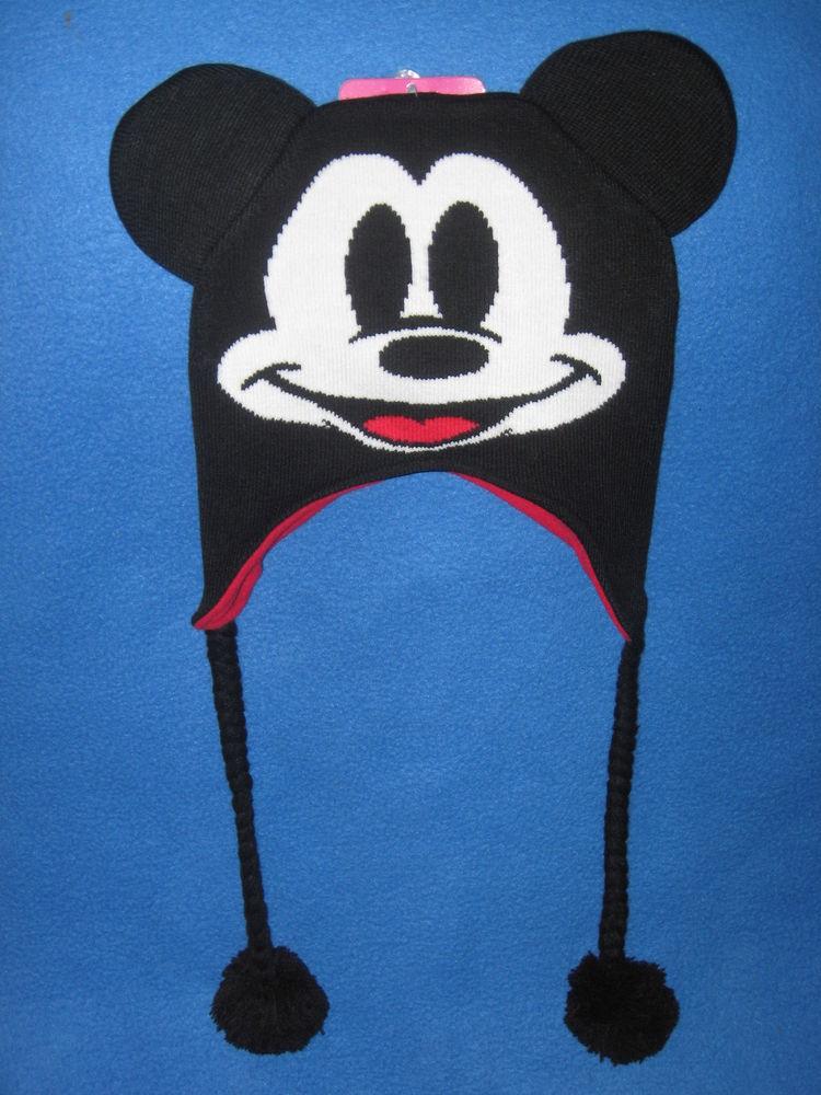 Mickey Mouse Disney Movie Cartoon Vintage Retro Winter Beanie Laplander Hat Cap | eBay