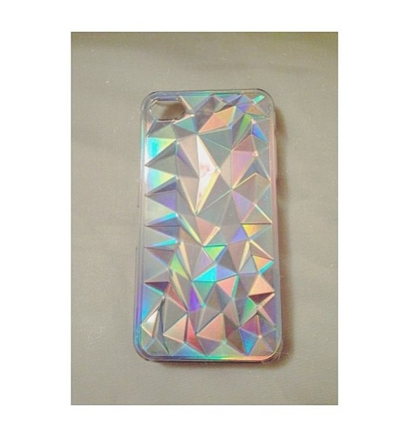 jewels 3d triangle case phone cover iphone case iphone cover bag