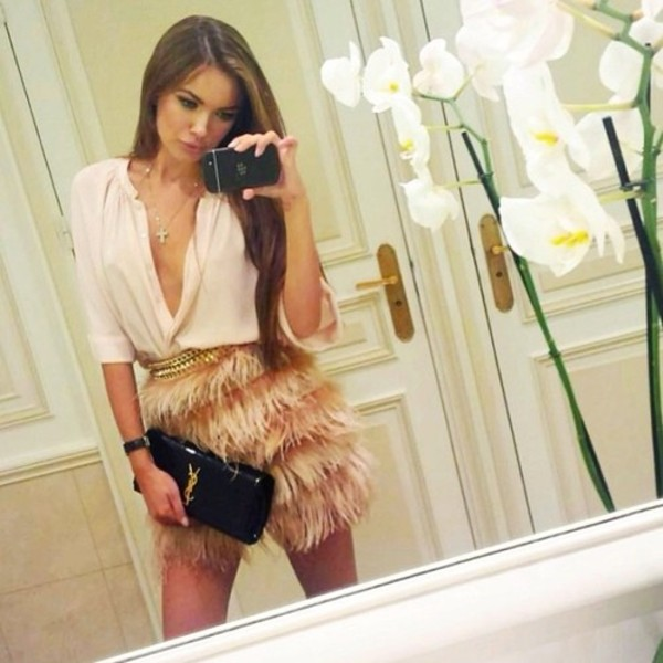 blouse v neck white shirt white blouse chiffon blouse sexy shirt chiffon white chiffon top plunge v neck deep v deep neck skirt bag shorts