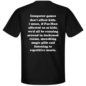 Games Don't Affect Kids - Unisex Anvil Lightweight Fashion T-Shirt - FunnyShirts.org