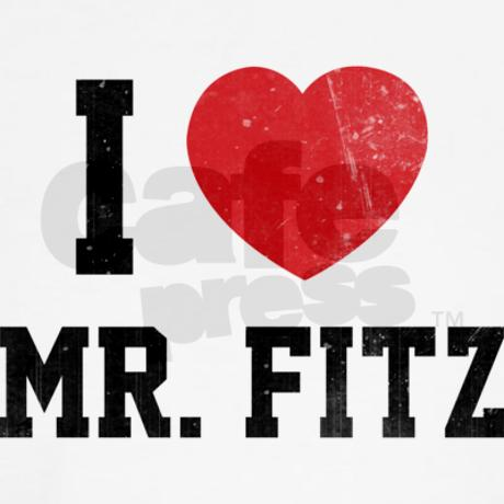 I love Mr. Fitz T-Shirt by Designalicious