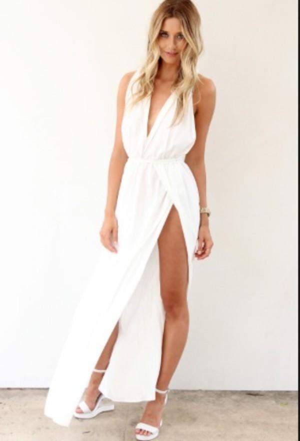 white dress formal formal dress maxi dress maxi evening dress prom prom dress white maxi dresses