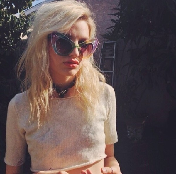 top 90s style vintage cropped knitwear pink white crop tops crop tops knitted crop top