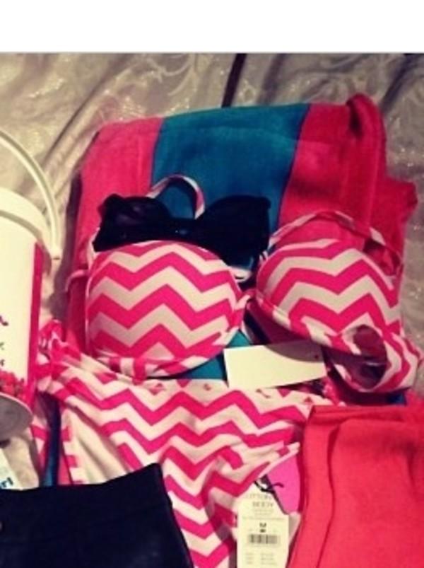 swimwear pink