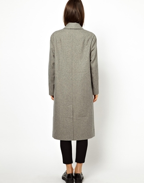 ASOS   ASOS Oversized Wrap Front Coat at ASOS
