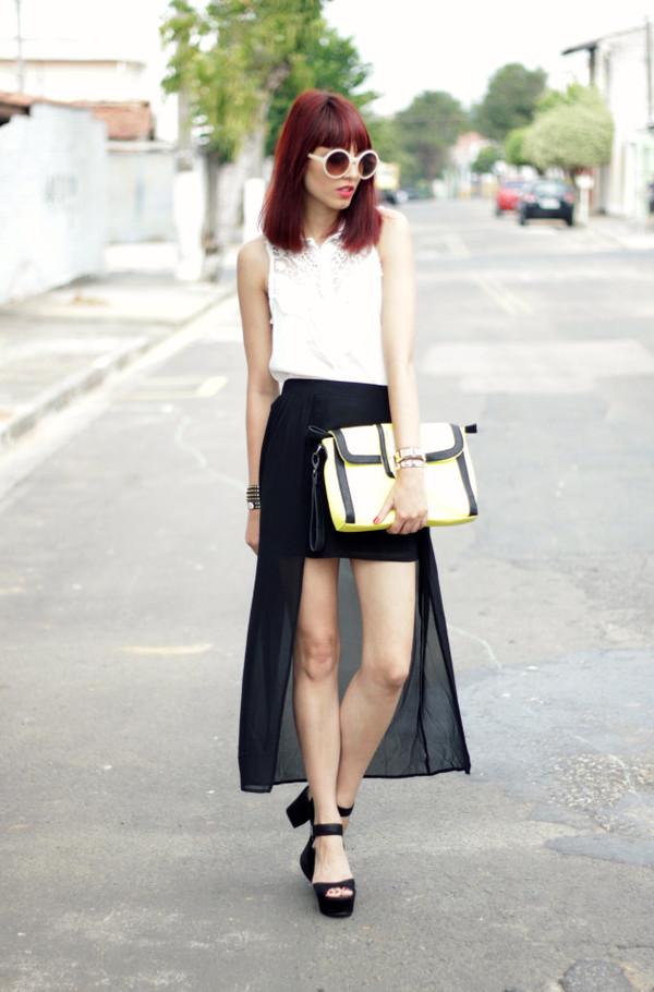 my name is glenn shirt skirt shoes bag sunglasses jewels