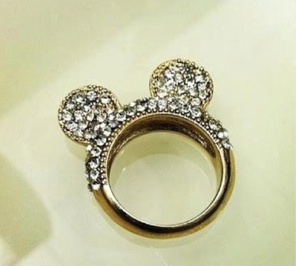 jewels mickey mouse ring disney