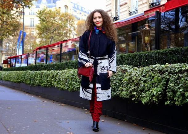 vintage traffic blogger coat cardigan top pants bag shoes