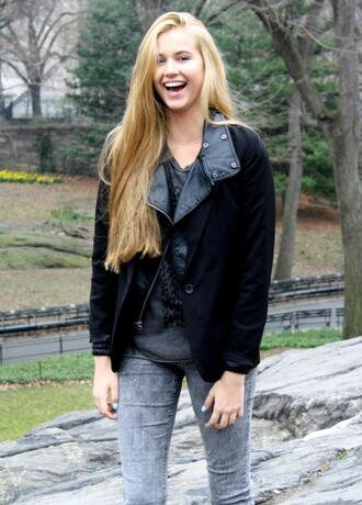 leather jacket black jacket jacket coat black leather life without tanlines lomax