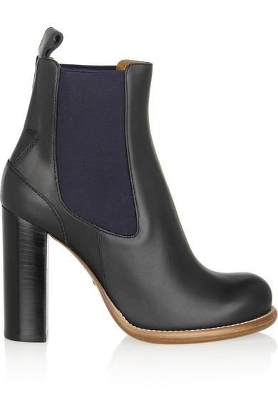 Chloé|Leather chelsea boots|NET-A-PORTER.COM