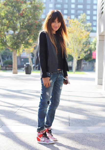 sincerely jules jacket tank top jeans shoes belt jewels