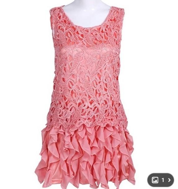 dress pink dress pink pink lace dress lace dress