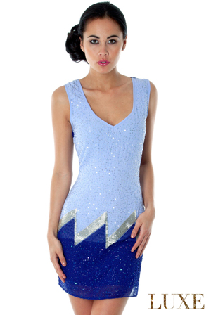 Art Deco Flapper Dress