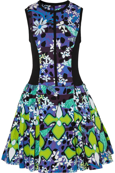 Peter Pilotto for Target|Printed stretch-matelassé dress|NET-A-PORTER.COM