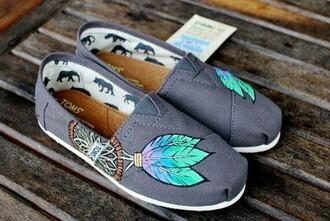 shoes dreamcatcher toms