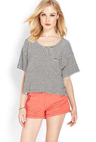 Everyday Cuffed Shorts | FOREVER 21 - 2000126329