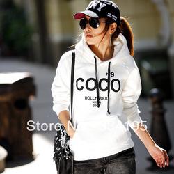 Heißer verkauf 2013 neue mode frauen kokos gedruckt pullover Freizeit trainingsanzug sweatshirt