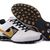 Discount Nike Shox Deliver Mens White Black Gold Running Shoes NK-Shox M034 Sale Online - $102.91