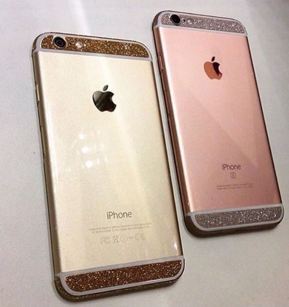 iphone pink gold phone cover gold iphone 6 pink and silver 12135