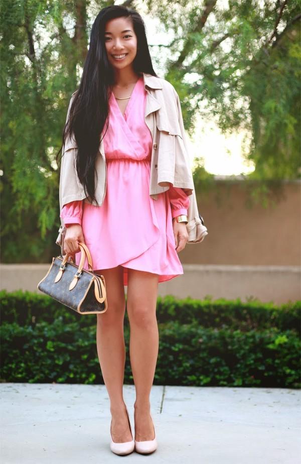 honey and silk dress coat bag shoes jewels