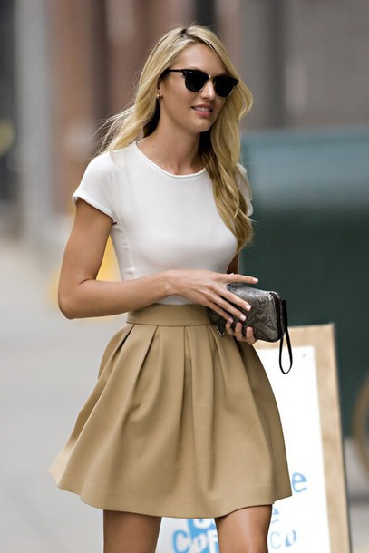 top candiceswanepoel white girly