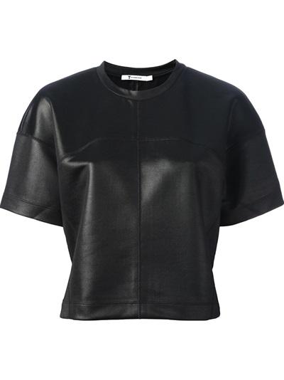 T By Alexander Wang Loose Fit T-shirt - O' - Farfetch.com